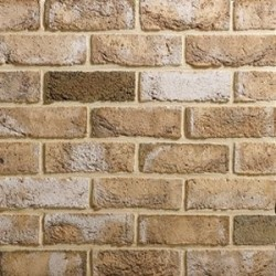 Traditional Brick & Stone Mystique 65mm Machine Made Stock Buff Light Texture Clay Brick