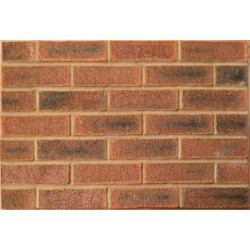 Caradale Royal Mixture 73mm Wirecut Extruded Red Light Texture Brick