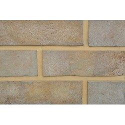 Coleford Brick & Tile Cotswold Buff 65mm Handmade Stock Buff Light Texture Clay Brick