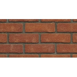 Heritage Collection Blockleys Cadmium Red 65mm Wirecut  Extruded Red Light Texture Brick