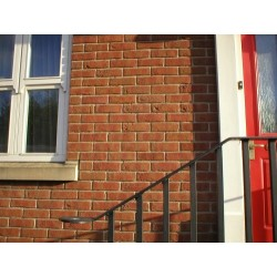 Heritage Collection Blockleys Cadmium Red Brindle 65mm Machine Made Stock Red Light Texture Brick