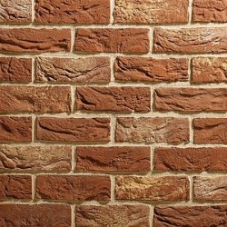Traditional Brick & Stone Dunwich Mixture 65mm Red Light Texture Clay Brick