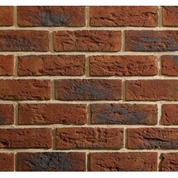 Traditional Brick & Stone Eaton Red Multi 65mm Machine Made Stock Red Light Texture Clay Brick