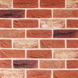 Traditional Brick & Stone Farmhouse Antique 65mm Machine Made Stock Red Light Texture Clay Brick