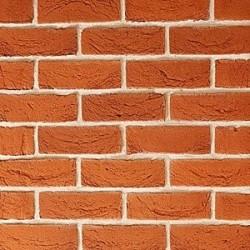 Traditional Brick & Stone Fine Handmade Texture Orange Blend 65mm Machine Made Stock Red Light Texture Clay Brick