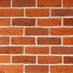 Traditional Brick & Stone Fine Handmade Texture Red Blend 65mm Machine Made Stock Red Light Texture Clay Brick