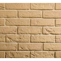 Traditional Brick & Stone Gault Stock 65mm Machine Made Stock Buff Light Texture Clay Brick