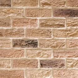 Traditional Brick & Stone Grantchester Blend 50mm Machine Made Stock Buff Light Texture Clay Brick
