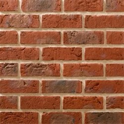 Traditional Brick & Stone Hamilton Orange Multi 65mm Machine Made Stock Red Light Texture Clay Brick