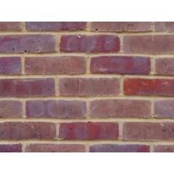 Bovingdon Berry Dark Multi 65mm Machine Made Stock Red Light Texture Clay Brick