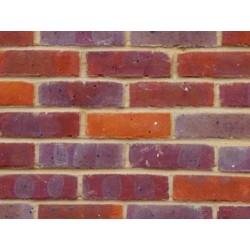 Bovingdon Berry Multi 65mm Machine Made Stock Red Light Texture Clay Brick