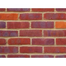 Bovingdon Berry Multi On The Red Side 65mm Machine Made Stock Red Light Texture Clay Brick