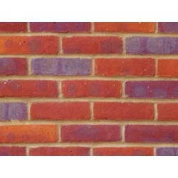 Bovingdon Berry Rural Multi 65mm Machine Made Stock Red Light Texture Clay Brick