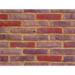 Bovingdon Handmade Dark Multi 65mm Handmade Stock Red Heavy Texture Clay Brick