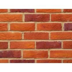 Bovingdon Handmade Light Multi 65mm Handmade Stock Red Heavy Texture Clay Brick