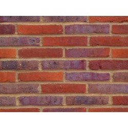 Bovingdon Handmade Multi 65mm Handmade Stock Red Heavy Texture Clay Brick