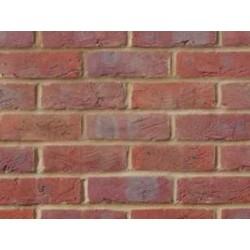 Bovingdon Handmade Red - Side 65mm Handmade Stock Red Heavy Texture Clay Brick