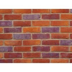 Bovingdon Handmade Rural Multi 65mm Handmade Stock Red Heavy Texture Clay Brick
