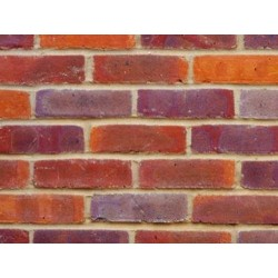 Bovingdon Rustic Multi 65mm Machine Made Stock Red Light Texture Clay Brick