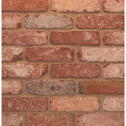Retro Desimpel UK Retro Cottage Stock 65mm Machine Made Stock Red Light Texture Clay Brick