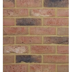 Traditional Desimpel UK Hathaway Brindled 65mm Machine Made Stock Red Light Texture Clay Brick