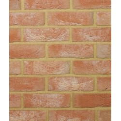 Traditional Desimpel UK Heritage Old Warwick 65mm Machine Made Stock Red Light Texture Clay Brick