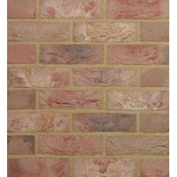 Traditional Desimpel UK Kempley Antique 65mm Machine Made Stock Red Light Texture Clay Brick