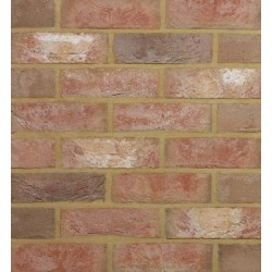 Traditional Desimpel UK Kenilworth Antique 65mm Machine Made Stock Red Light Texture Clay Brick