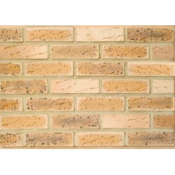 Caradale Kelvin Antique 65mm Wirecut Extruded Buff Light Texture Brick