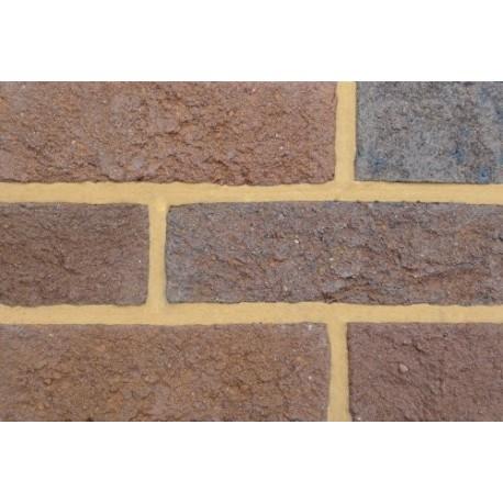 Coleford Brick & Tile Dark Bedford Multi 65mm Handmade Stock Brown Light Texture Clay Brick