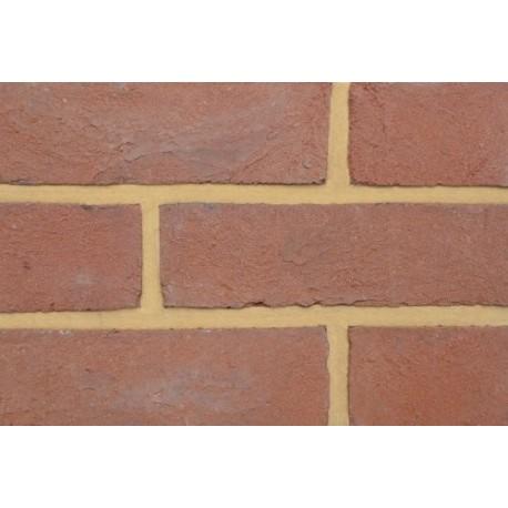 Coleford Brick & Tile Dark Mixed Tudor Red 65mm Handmade Stock Red Light Texture Clay Brick