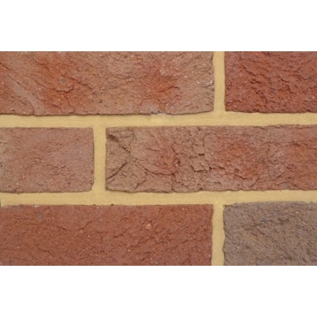 Coleford Brick & Tile Elizabethan Multi 65mm Handmade Stock Red Light Texture Clay Brick