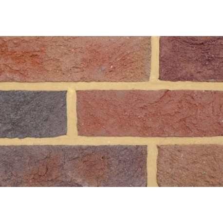 Coleford Brick & Tile Forest Of Dean Multi 65mm Handmade Stock Red Light Texture Clay Brick