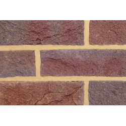 Coleford Brick & Tile Forest Royal Mixed 65mm Handmade Stock Red Light Texture Clay Brick