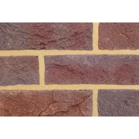 Coleford Brick & Tile Forest Royal Mixed 67mm Handmade Stock Red Light Texture Clay Brick