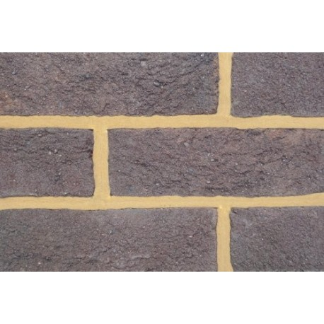 Coleford Brick & Tile Mixed Purple 65mm Handmade Stock Brown Light Texture Clay Brick