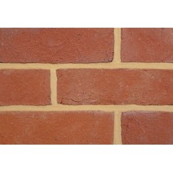 Coleford Brick & Tile Mixed Tudor Red 65mm Handmade Stock Red Light Texture Clay Brick