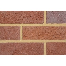 Coleford Brick & Tile Multi Red Old English 65mm Handmade Stock Red Light Texture Clay Brick