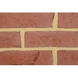 Coleford Brick & Tile Rustic Tudor Mixed 65mm Handmade Stock Red Light Texture Clay Brick
