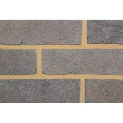 Coleford Brick & Tile Vauxhall Grey 65mm Handmade Stock Grey Light Texture Clay Brick
