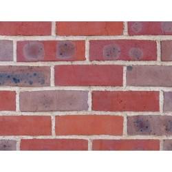 H G Matthews ATR 50mm Machine Made Stock Red Light Texture Clay Brick