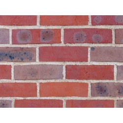 H G Matthews ATR 65mm Machine Made Stock Red Light Texture Clay Brick
