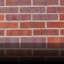 H G Matthews Chesham Multi 50mm Machine Made Stock Red Light Texture Clay Brick
