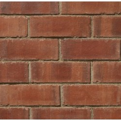 Carlton Brick Clayburn Civic Reverse 73mm Wirecut Extruded Red Light Texture Clay Brick