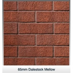 Carlton Brick Dalestock Mellow 65mm Wirecut Extruded Red Light Texture Clay Brick