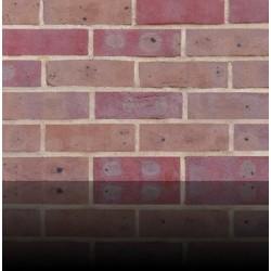 H G Matthews Dark Multi 50mm Machine Made Stock Red Light Texture Clay Brick