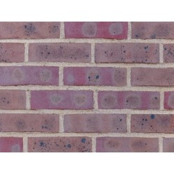 H G Matthews Dark Multi 65mm Machine Made Stock Red Light Texture Clay Brick