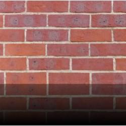 H G Matthews Light Multi - Chalfont Red 65mm Handmade Stock Red Light Texture Clay Brick