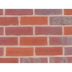H G Matthews Resort Multi 65mm Machine Made Stock Red Light Texture Clay Brick