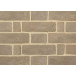 Charnwood Forest Brick Cathedral Grey 65mm Handmade Stock Grey Light Texture Clay Brick